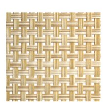 "<strong>Front Of The House</strong> Metroweave 16"" X 12"" Large Basketweave Placemat in Natural (Set of 6)"