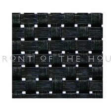 "<strong>Front Of The House</strong> Metroweave 11"" X 14"" Tweed Placemat in Black (Set of 6)"
