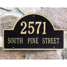 Arch Marker Estate Address Plaque