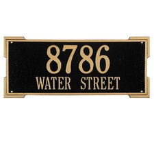 Roanoke Address Plaque