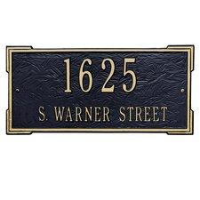 Roanoke Address Plaque
