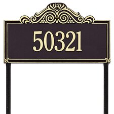 Villa Nova Estate Address Sign