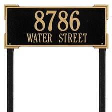 Roanoke Estate Address Sign