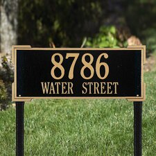 <strong>Whitehall Products</strong> Roanoke Estate Address Sign