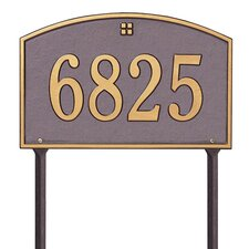 Cape Charles Address Sign