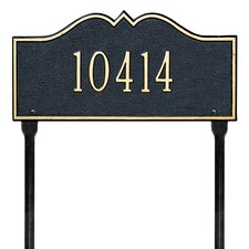 Hillsboro Address Sign