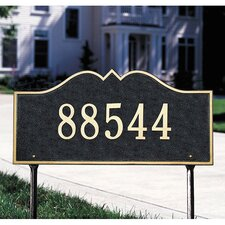 Hillsboro Estate Address Sign