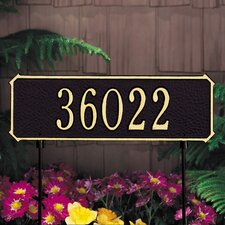 Two-Sided Standard Address Sign