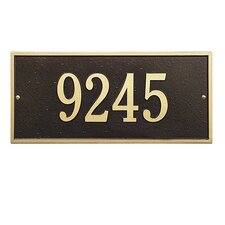 Hartford Address Plaque