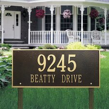 Hartford Estate Address Sign