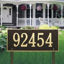 <strong>Whitehall Products</strong> Hartford Estate Address Sign