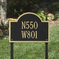<strong>Whitehall Products</strong> Wisconsin Special Standard Address Sign