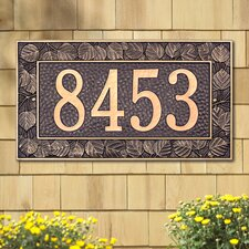 <strong>Whitehall Products</strong> Aspen Standard Address Plaque
