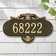 Rochelle Grande Address Plaque