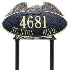 Eagle Estate Address Sign