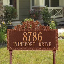Ivy Standard Address Sign