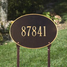 Hawthorne Standard Address Sign