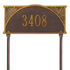 Dragonfly Standard Address Sign