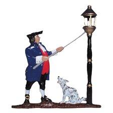 Lamplighter Mailbox Ornament