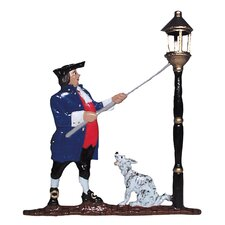 Lamplighter Mailbox Ornament