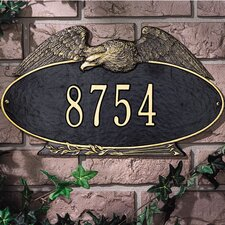Eagle Standard Address Plaque