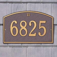 Cape Charles Standard Address Plaque