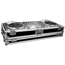 Two Turntables / Pioneer DJM500 or DJM600 Mixer or Other Mixer with Wheels - Battle Style