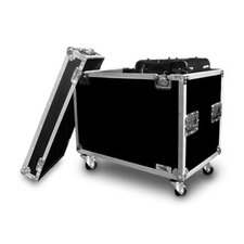 Lighting Cases Moving Head Lighting Case for 2 X Type 250 Heads in Hanging Position with Caster Board
