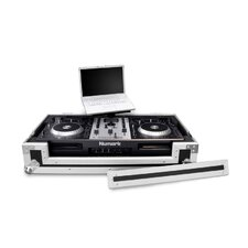 LapTop Trayz Series Case for Numark Mixdeck and Pioneer DDJS1 and DDJT1 Controllers - with Laptop Tray