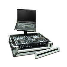 LapTop Trayz Series Case for Denon Dnmc6000 Controller - with Laptop Tray
