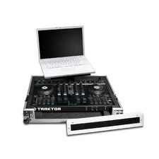 LapTop Trayz Series Case for Native Instruments S4 Kontroller and and American DJVMS4 Controller - with Laptop Tray