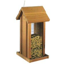 <strong>North States</strong> Wood Hanging Tower Birdfeeder