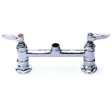 """Deck Mount Centerset Faucet with 6"""" Swing Spout"""