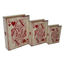 3 Piece Vinyl Queen of Hearts Book Box Set
