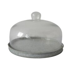Low Round Glass Terrarium