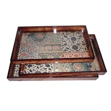 3 Piece Large Tray Set