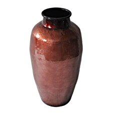 Round Metallic Vase