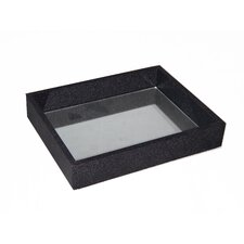 Raised Bubble Tray with Mirror