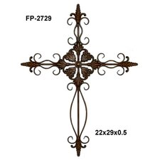 "29.25"" Metal Cross"
