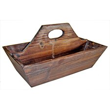 Wooden Garden 2 Slot Tool Box