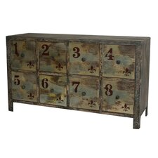 8 Drawer Vintage Chest