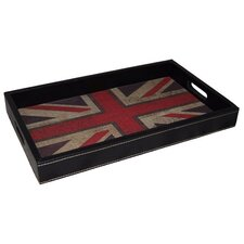 Union Jack Rectangular Serving Tray