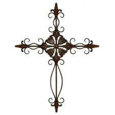Metal Cross Wall Décor
