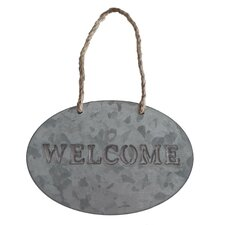 "Hanging Garden ""Welcome"" Sign"