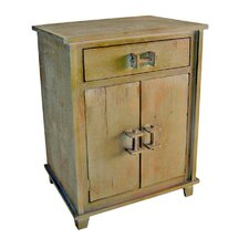 Shabby Elegance 1 Drawer 2 Door Cabinet