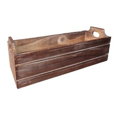 Wooden Ledge Planter