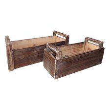 Rectangular Ledge Planter (Set of 2)