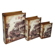 Train Book Box (Set of 3)