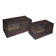 UK Treasure Box (Set of 2)