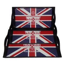 Union Jack Tray (Set of 3)